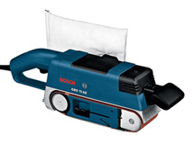 Ленточная шлифмашина Bosch GBS 75 AE Set Professional