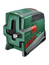 Лазер с перекрестными лучами с функцией отвеса Bosch PCL 20