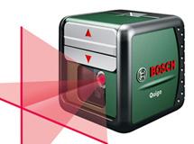 Лазерный нивелир с перекрестными лучами Bosch Quigo