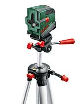 Лазер с перекрестными лучами с функцией отвеса Bosch PCL 20 Set