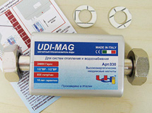 Магнитный преобразователь воды UDI-MAG MEGAMAX 030