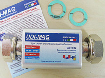 Магнитный преобразователь воды UDI-MAG MEGAMAX 032