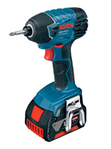Аккумуляторный ударный гайковерт Bosch GDR 18 V-LI Professional