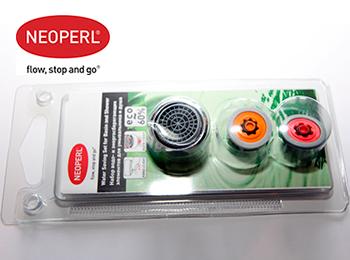 Водосберегающие элементы для умывальника и душа Neoperl GmbH (Германия/Швейцария) в наборе (98099562)