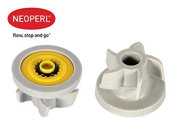 Водосберегающий регулятор расхода воды для душевой лейки Neoperl® PSW-02, 5 л/мин., желтый (58908710)