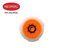 Водосберегающий регулятор расхода воды для душа Neoperl® PSW-01, 9 л/мин., оранжевый