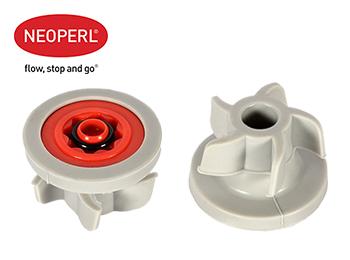 Водосберегающий регулятор расхода воды для душевой лейки Neoperl® PSW-02, 12 л/мин., красный (58909410)