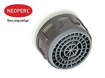 Водосберегающий аэратор Neoperl® Cascade® SLC® AC PCA® M22/M24 внутренняя часть, 5.7 л/мин., зеленый