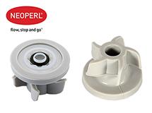 Водосберегающий регулятор расхода воды для душевой лейки Neoperl® PSW-02, 8 л/мин., белый