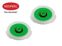 Водосберегающий регулятор расхода воды для душа Neoperl® PSW-01, 7 л/мин., зеленый