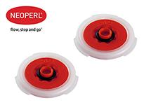 Водосберегающий регулятор расхода воды для душа Neoperl® PSW-01, 12 л/мин., красный